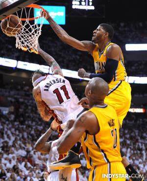 Pacers-Paul-George-dunks-on-Birdman