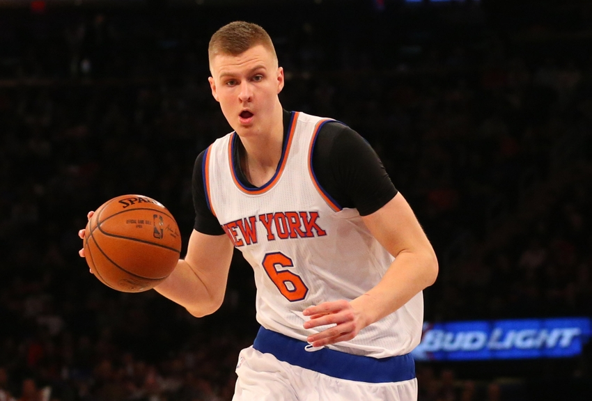 b0460e485 New York Knicks power forward Kristaps Porzingis turned heads throughout  his rookie season. In which areas is Porzingis already thriving
