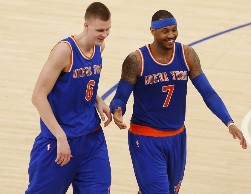 ... Jersey The contracts have been officially signed. Its time to take a  look at the starting Carmelo Anthony Shows New York Knicks ... efcfbf7d1