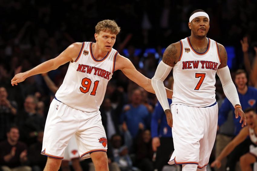 Knicks trade down options