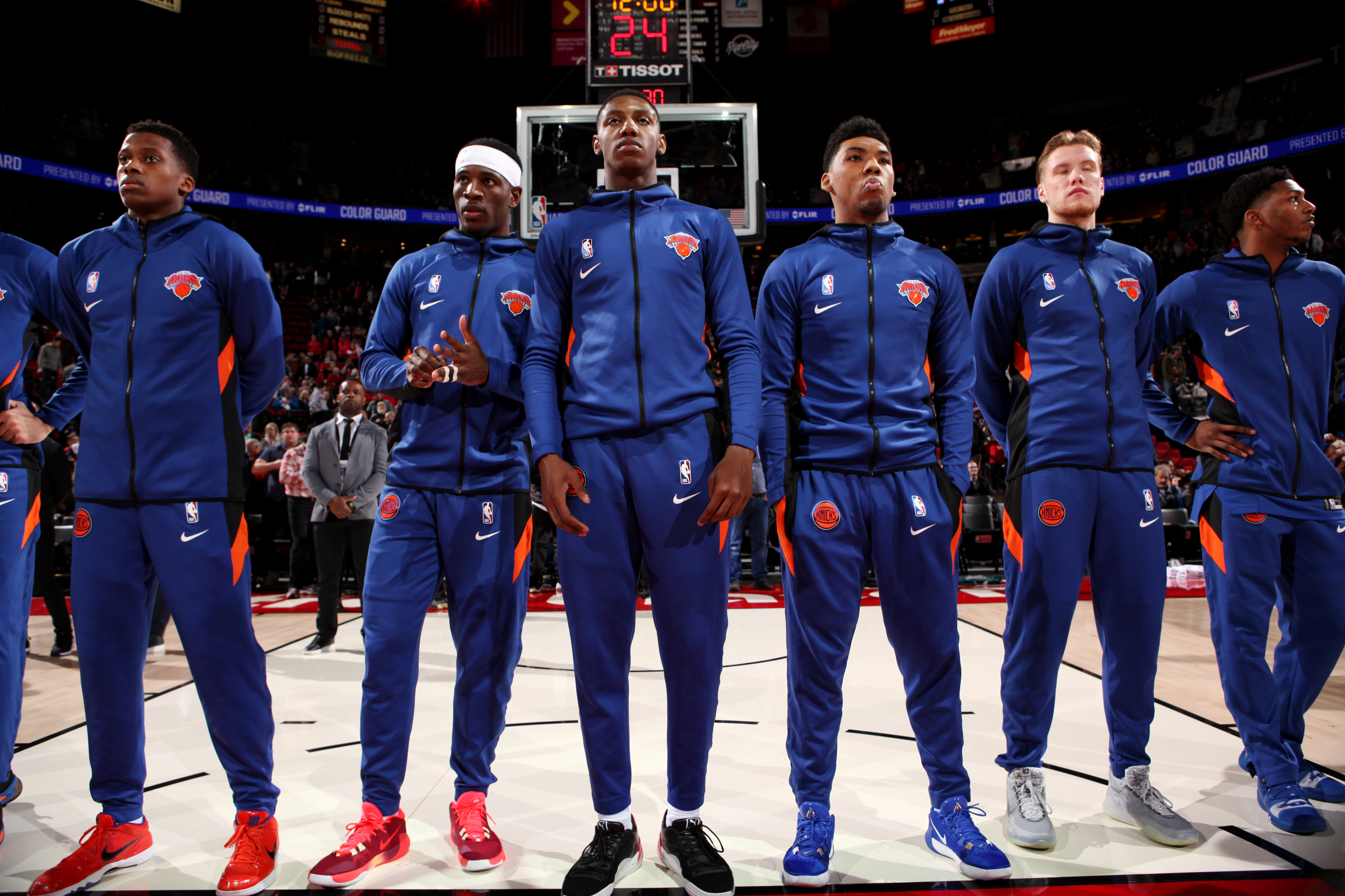 New York Knicks Should Let The Young Guns Play