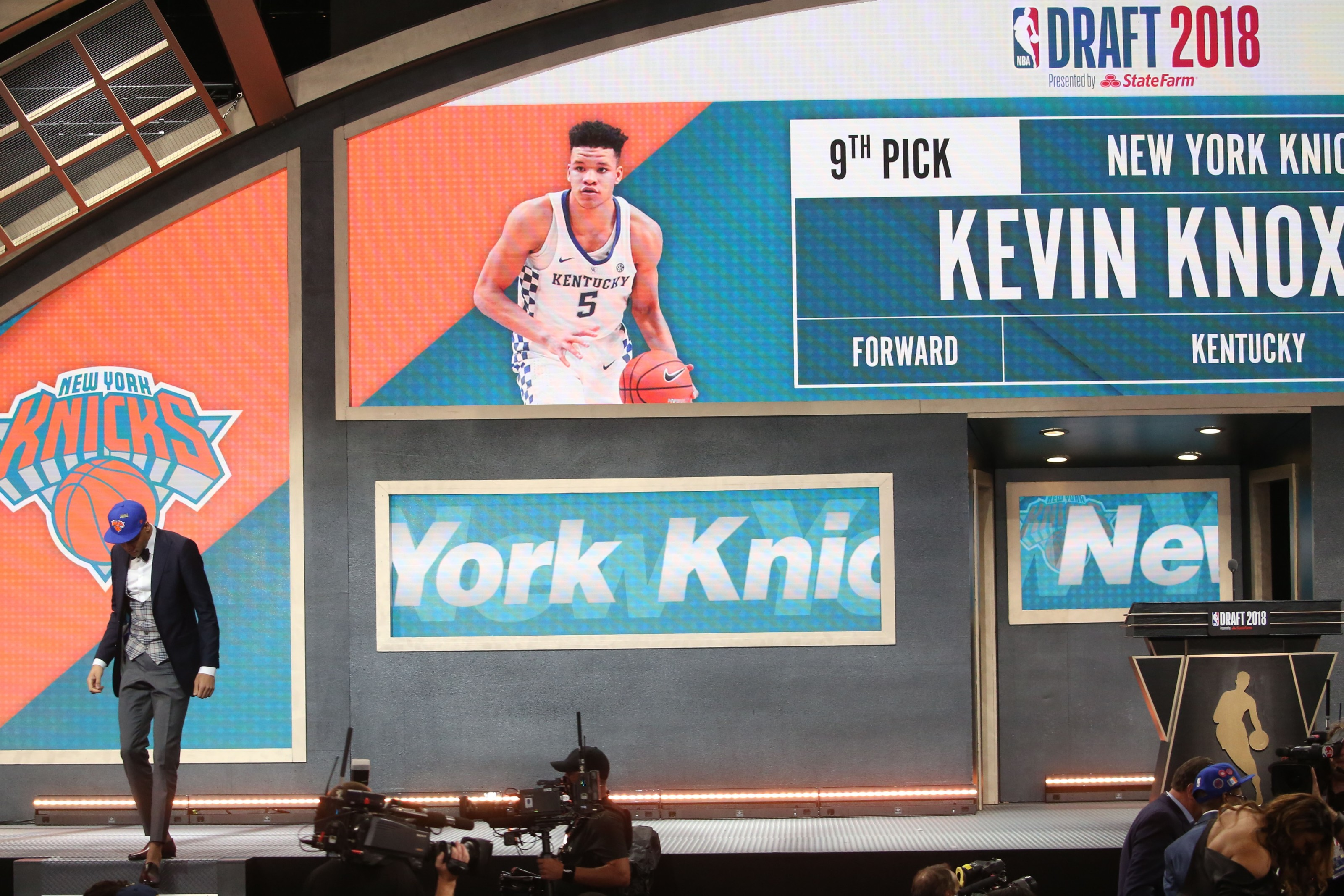 new york knicks nba draft positioning takes center stage