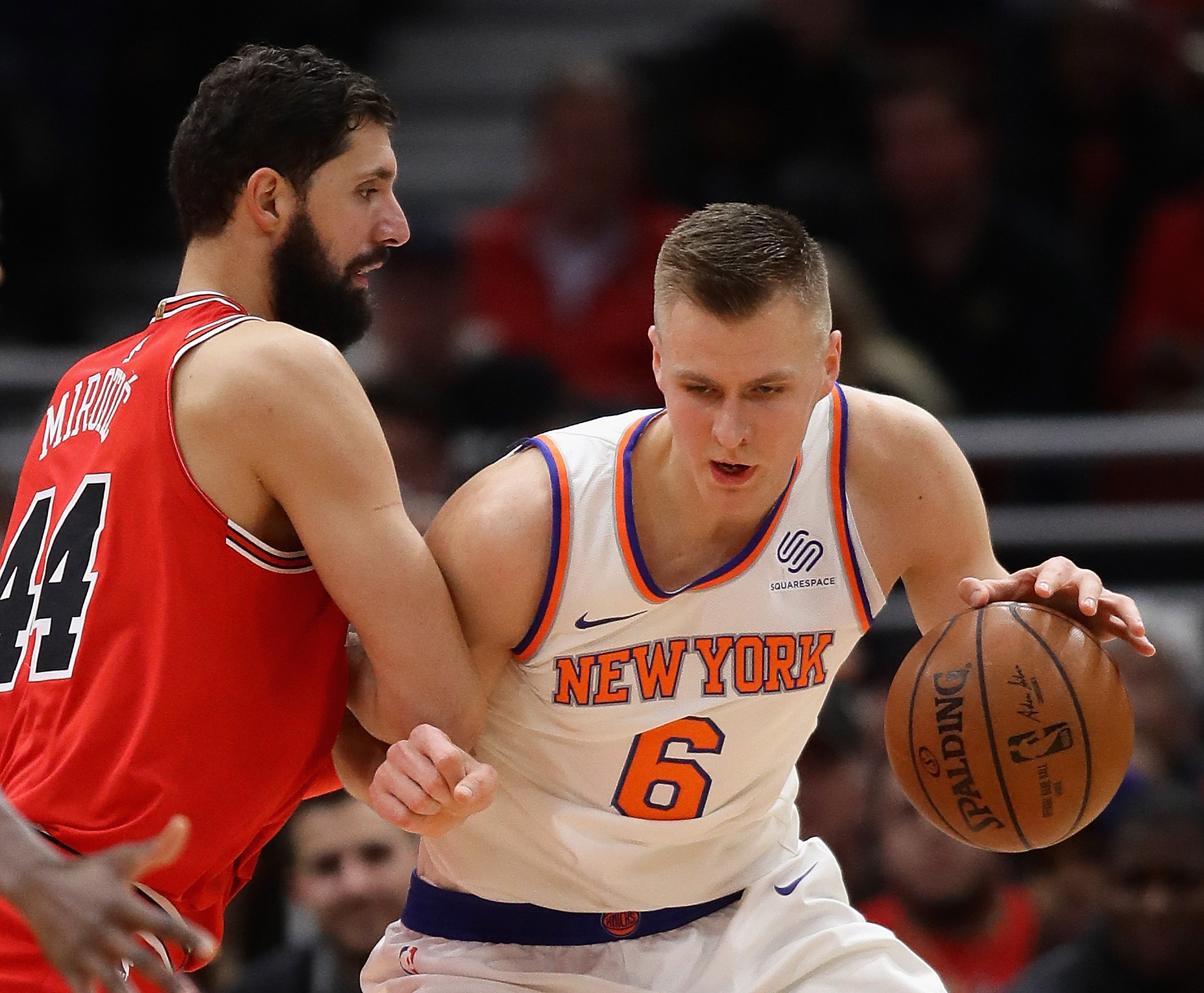 Chicago Bulls at New York Knicks preview for January 10 Video