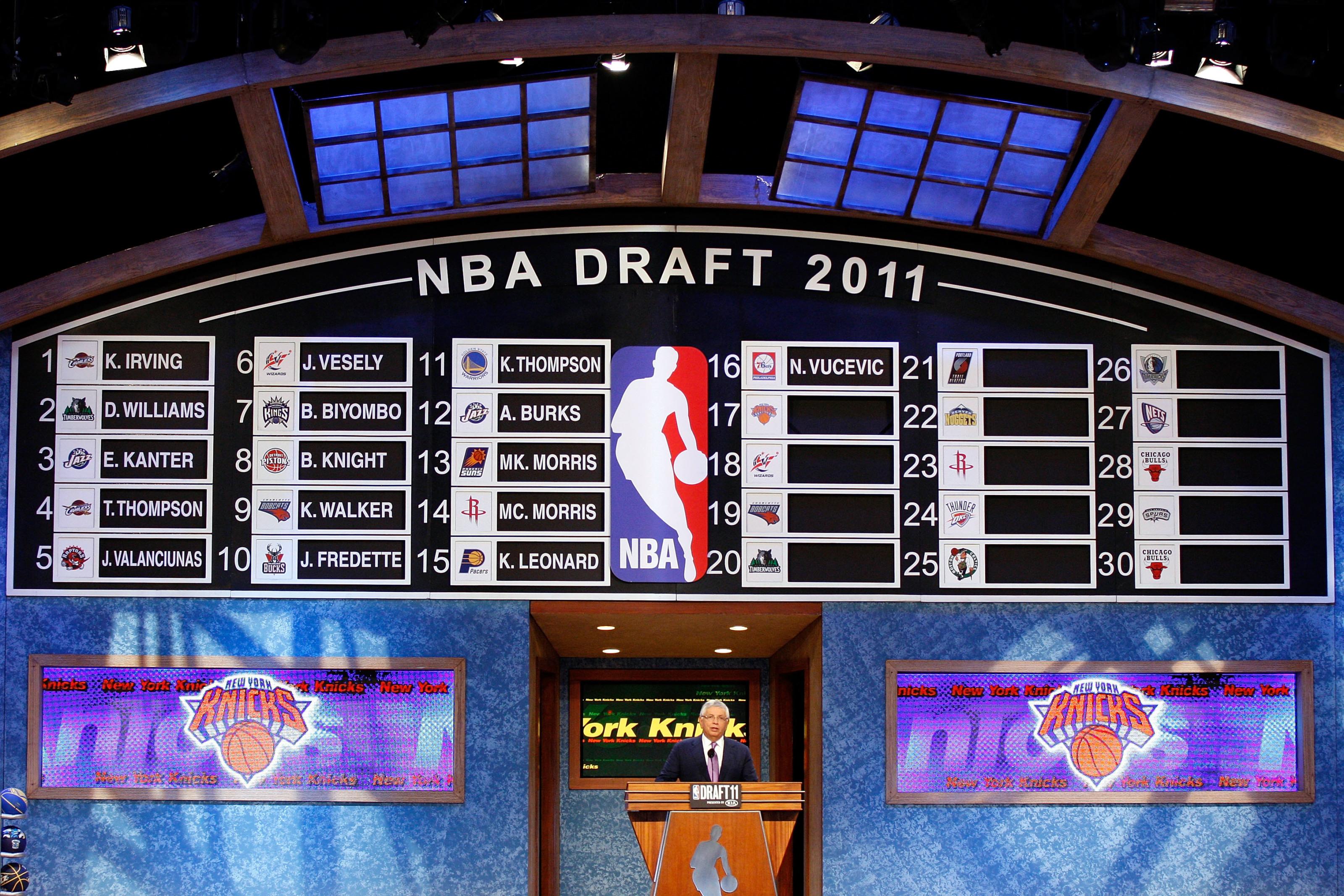 Building Through The NBA Draft: New York Knicks Draft History