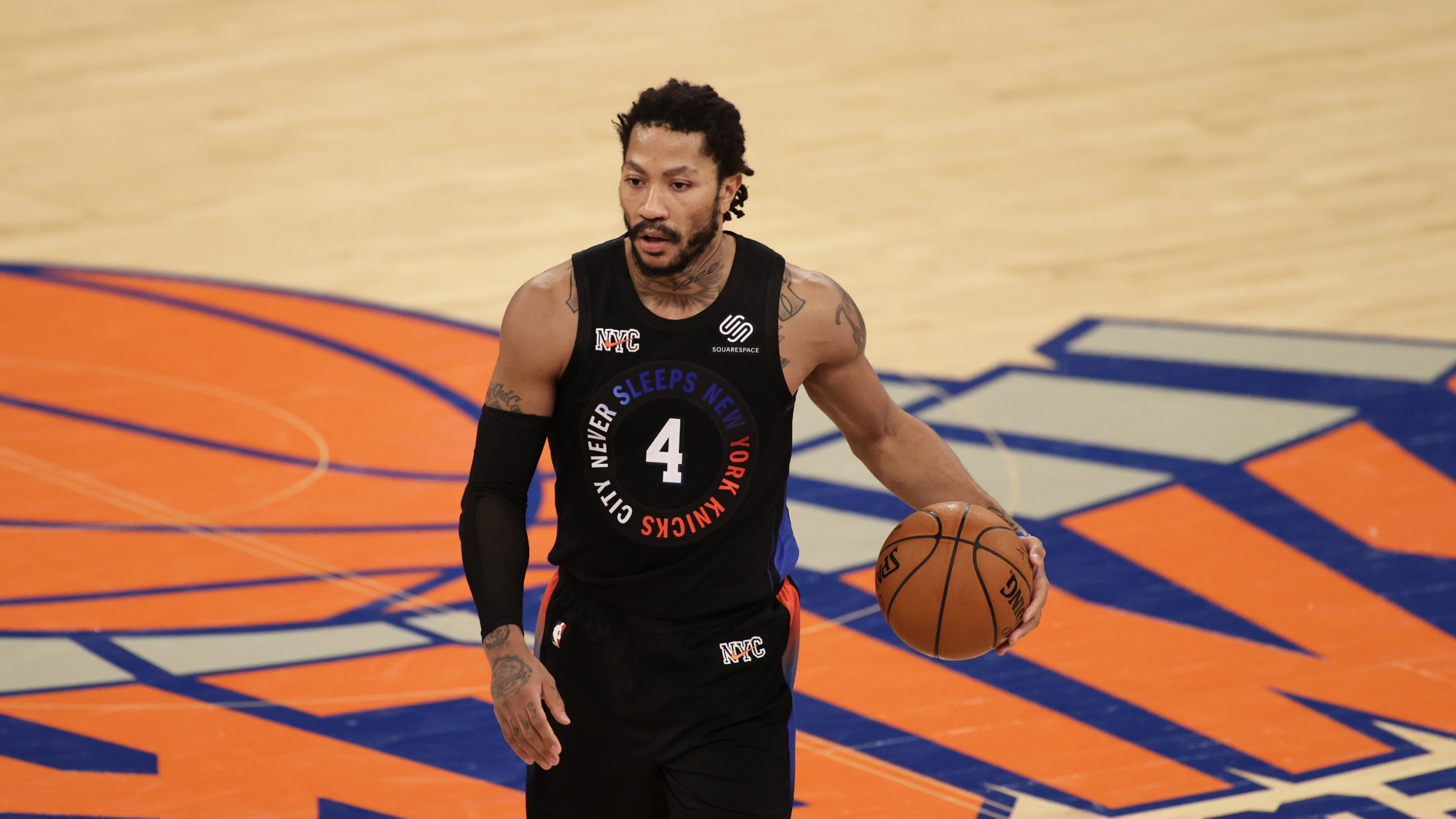 The Knicks Have A Staggering Win Percentage With Derrick Rose
