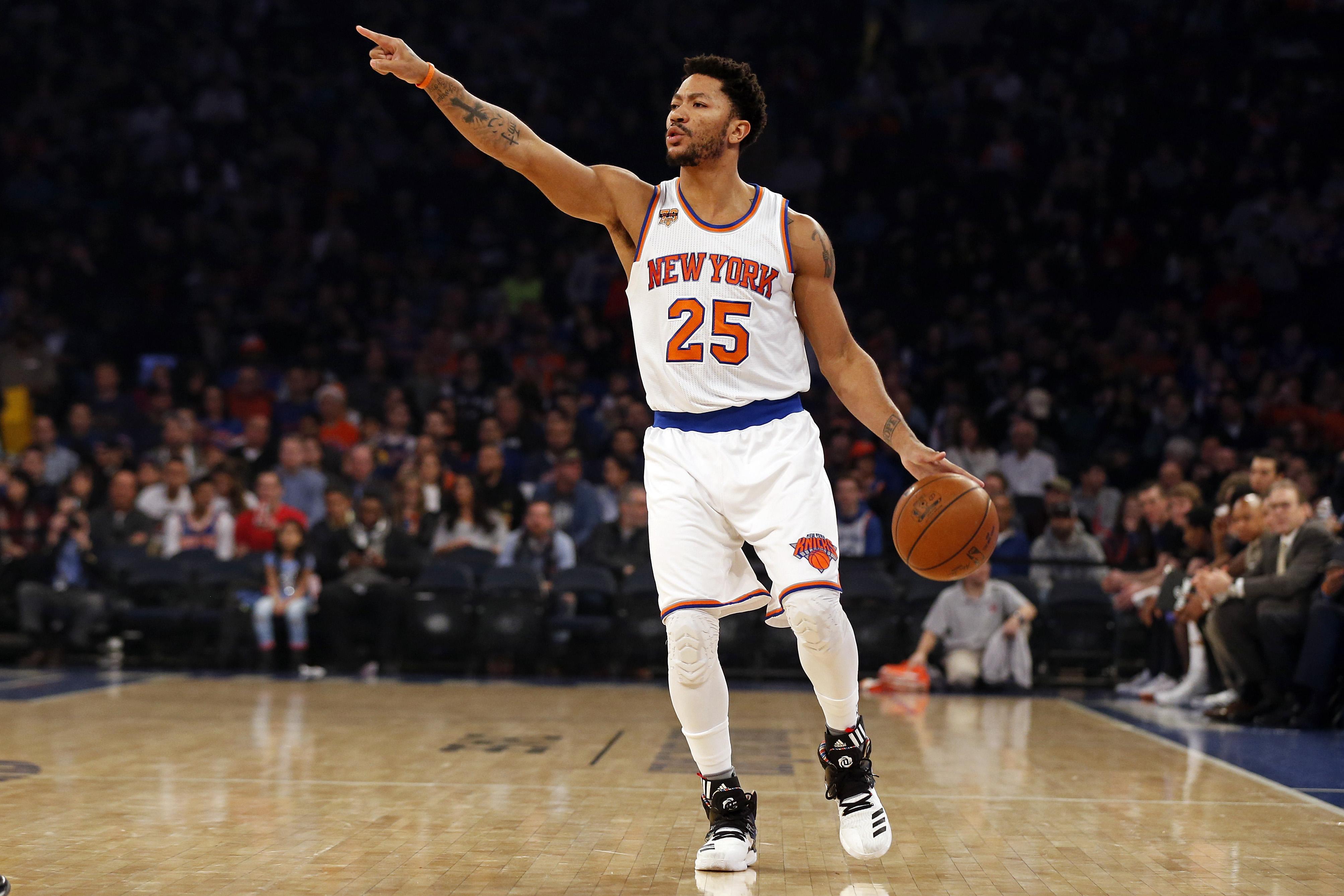 4608126becd Knicks Trade Rumors  Potential Derrick Rose Trade Options