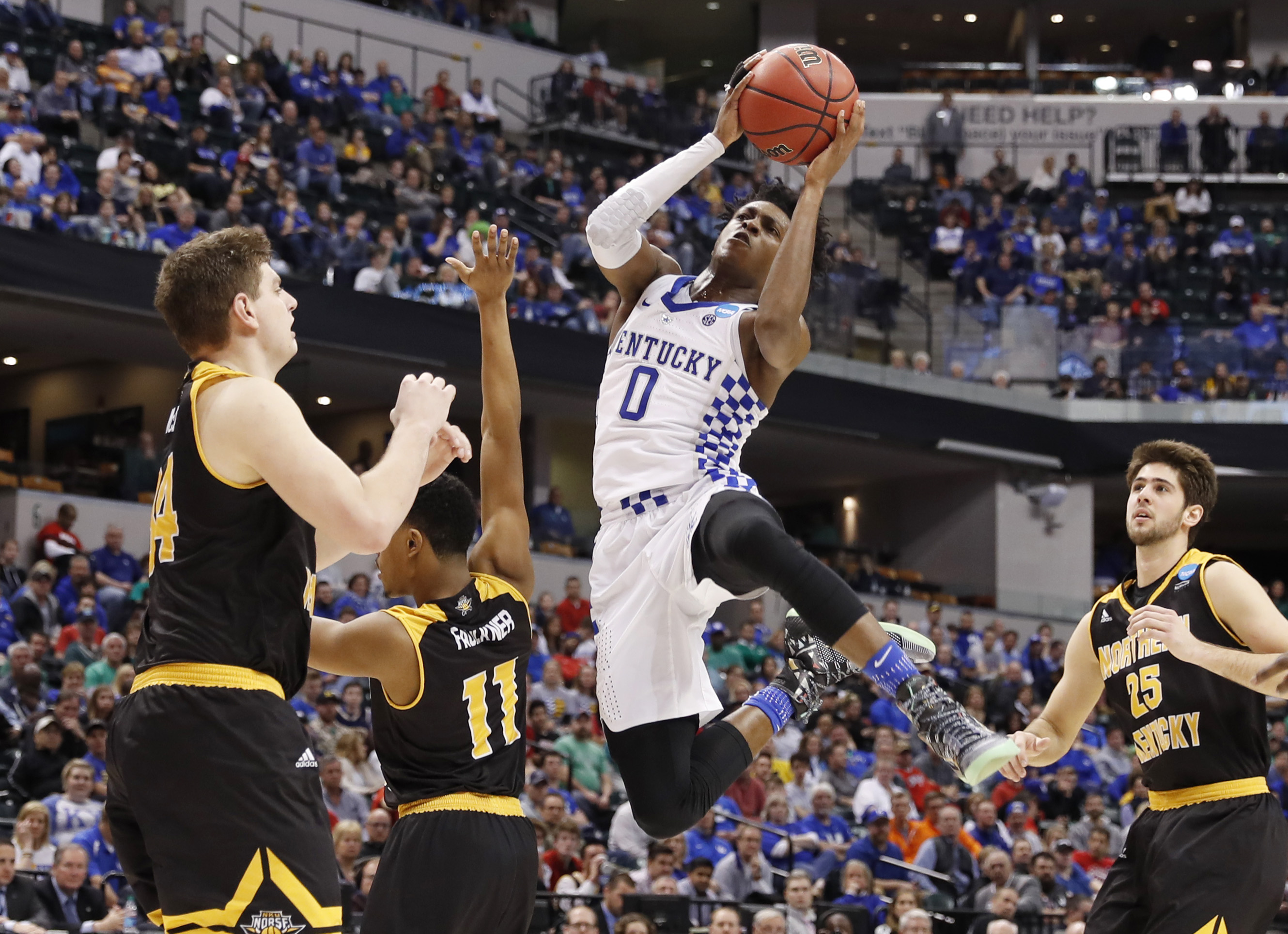 Kentucky Basketball Our First Look At The New Wildcats In: New York Knicks: Early April 2017 NBA Mock Draft